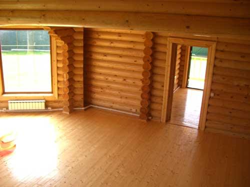 Отделка деревянного дома. Отделка стен