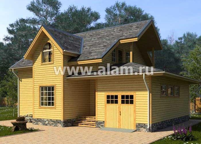 Дом из профилированного бруса ПБ-19