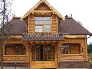 Строительство деревянного дома по проекту ОБ-6