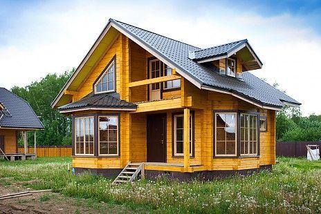 Покраска домов - профессиональная окраска деревянных