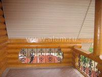 Отделка балконов и мансарды