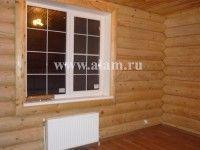 Комфортное жилище из бревна с эркером ОБ-60