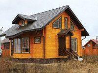 Дом из профилированного бруса ПБ-34
