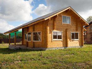 Дом из профилированного бруса ПБ-35