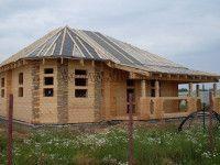 Дом из профилированного бруса ПБ-8