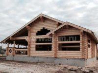 Деревянный одноэтажный дом-шале ПБ-66