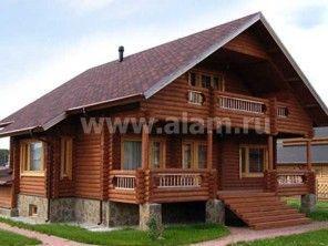 Дом из дерева в стиле шале ОБ-9