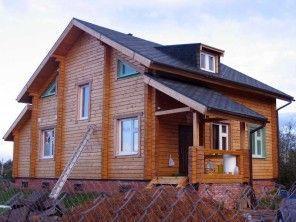 Дом из профилированного бруса ПБ-12