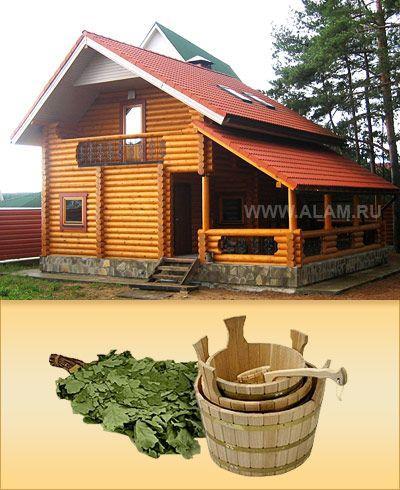 Из чего строительство деревянного дома