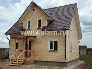 Дом из профилированного бруса ПБ-1