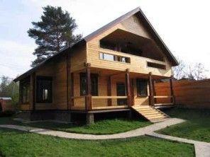 Строительство дачного дома из профбруса  ПБ-6