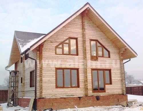 Дом из профилированного бруса ПБ-49