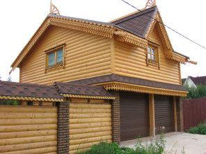 Дом для охраны с гаражом.