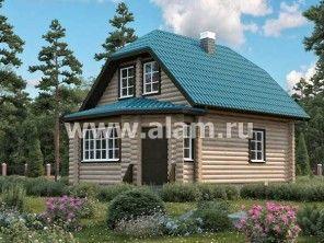Небольшой загородный дом с эркером ОБ-1