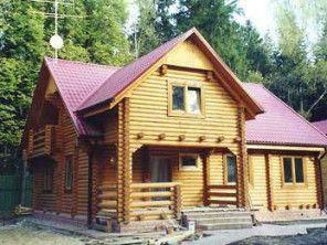 Дом из оцилиндрованного бревна ОБ-5