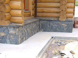 отмоста деревянного дома