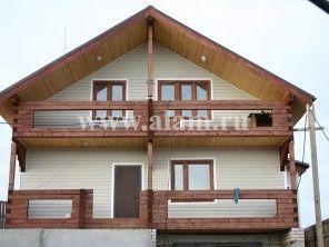 Дом из профилированного бруса ПБ-15
