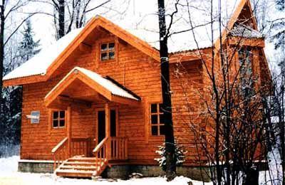 Дом из профилированного бруса ПБ-3