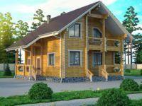 Дом из профилированного бруса ПБ-36
