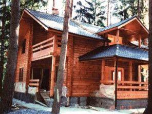 Дом из профилированного бруса ПБ-4