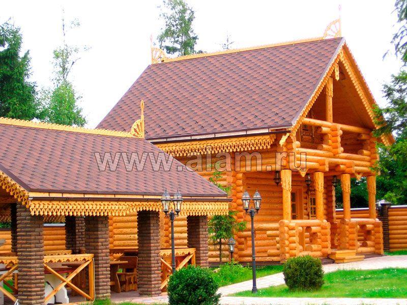 Строительство деревянных домов под ключ. Баня