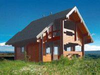 Дом из профилированного бруса ПБ-62