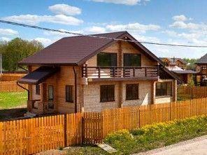 Загородный деревянный дом ПБ-88
