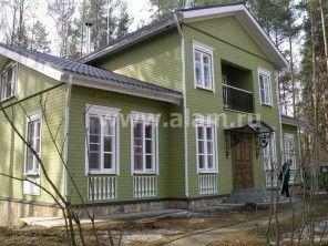 Дом из строганого бруса ПБ-77