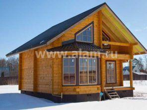 Хит продаж-дом из профилированного бруса