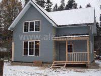 Строительство дома из бруса профилированного