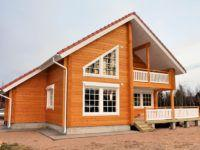 Проект дома из бруса профилированного ПБ-122