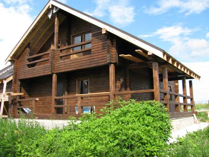 дом из проф.бруса