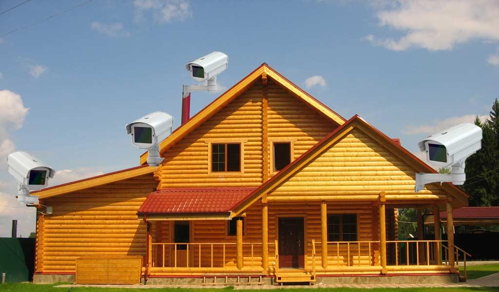 Особенности охраны загородного дома из дерева 1