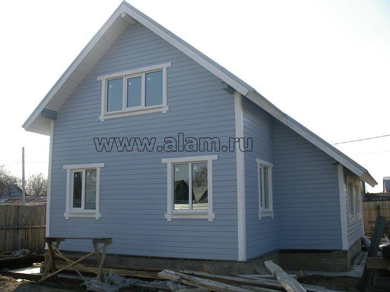 Небольшие дачные деревянные дома