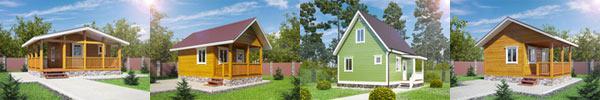 Дачные деревянные дома