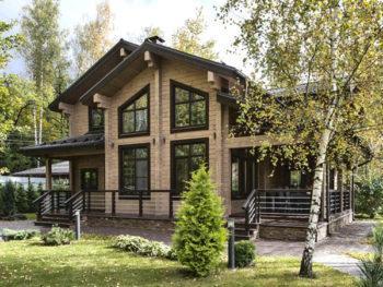 Дом из бруса больше 200 квадратных метров