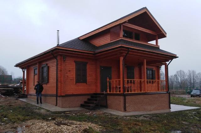 Дом из бруса со светелкой